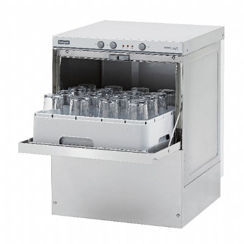 Maidaid Halcyon AMH45 Glass Washer - Gravity drain